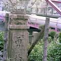勇橋の親柱
