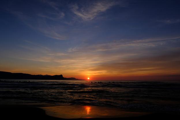 蘭島海岸の黄昏 その5