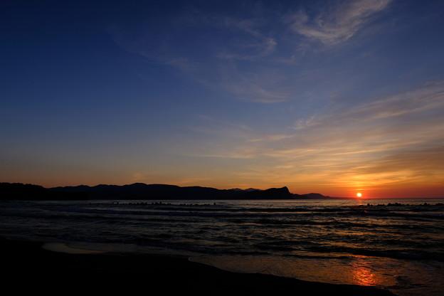 蘭島海岸の黄昏 その6