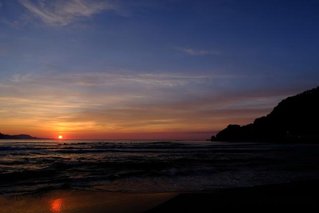 蘭島海岸の黄昏 その7