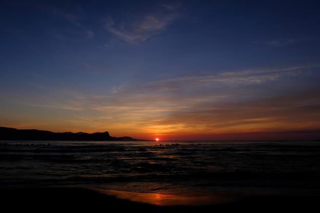 蘭島海岸の黄昏 その8