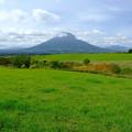 望羊の丘より羊蹄山を望む その1
