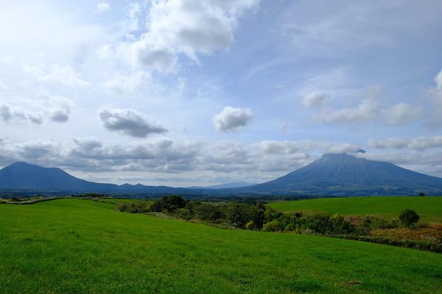 望羊の丘より羊蹄山を望む その2