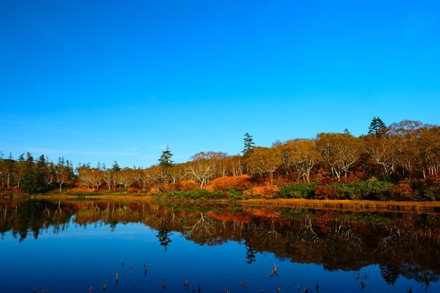 錦秋の神仙沼 その2
