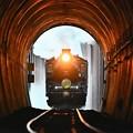 SLばんえつ物語御前トンネル進入