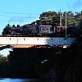Photos: 鬼怒川を渡るSL大樹7号
