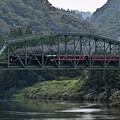 Photos: 阿賀野川徳沢橋梁を渡るC57180