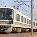 JR221系NA402+同NA427