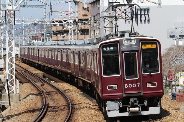 阪急8000系C#8007×8R