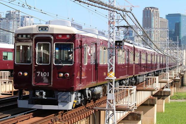 阪急7000系C#7001×6R+8000系C#8042×2R