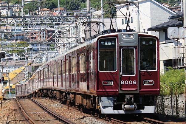 阪急8000系C#8006×8R
