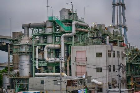 葛西の水再生工場