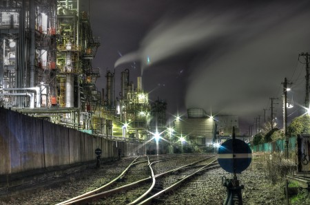 工場夜景してみた