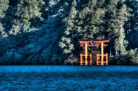 箱根の鳥居