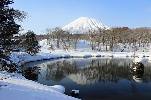 Photos: 冬の羊蹄山IMG_5922a