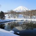 冬の羊蹄山IMG_5922a