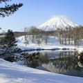 冬の羊蹄山IMG_5941a