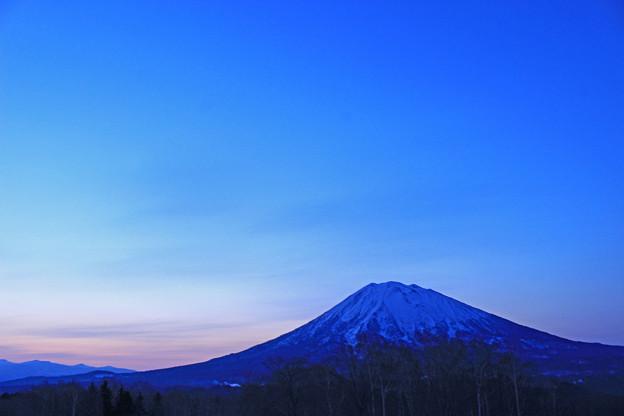 羊蹄山の日の出IMG_6221a