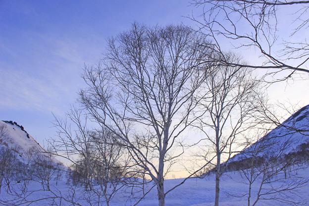 五色温泉の夜明けIMG_6295a