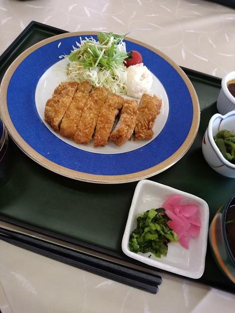 京ヶ野ゴルフ倶楽部 さくらポークの味噌カツ定食