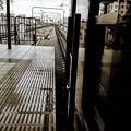 電車に乗って・・^^