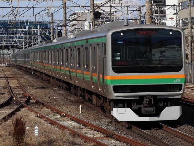 東海道線E231系1000番台 U58+U-587編成