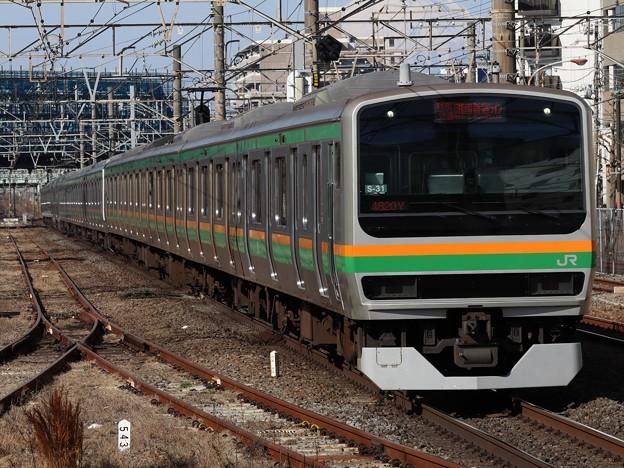 湘南新宿ラインE231系1000番台 S-31+E-04編成