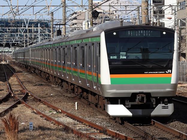 東海道線E233系3000番台 E-72+U622編成