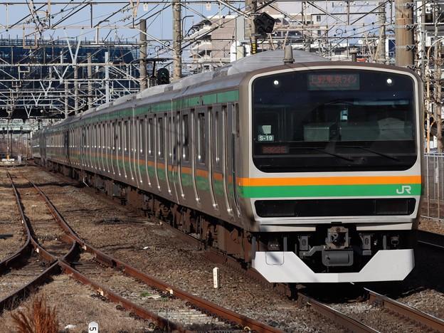 東海道線E231系1000番台 S-19+K-37編成