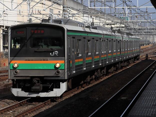 Photos: 宇都宮線205系600番台 Y12編成