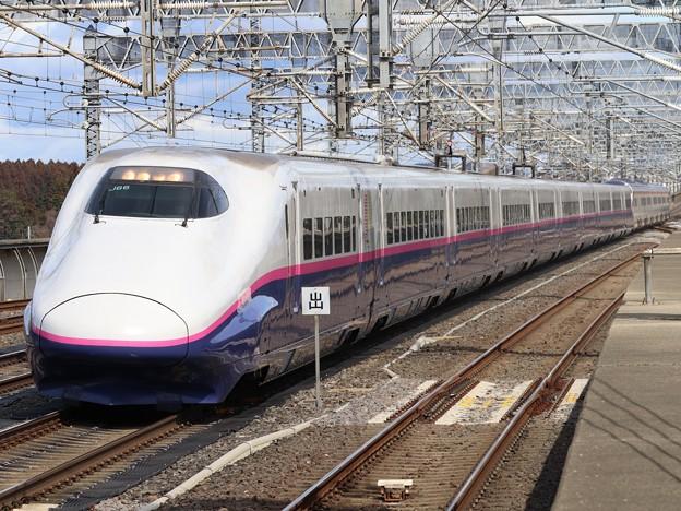 東北新幹線E2系1000番台 J66編成他17両編成