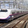 Photos: 東北新幹線E2系1000番台 J66編成他17両編成