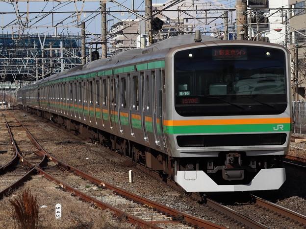 東海道線E231系1000番台 S-16+K-21編成