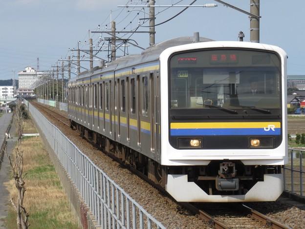 鹿島線209系2100番台 C437編成