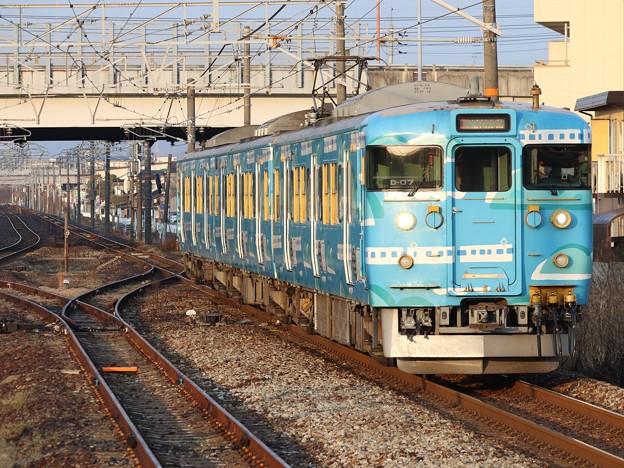 伯備線115系1000番台 D-07編成【SETOUCHI TRAIN】