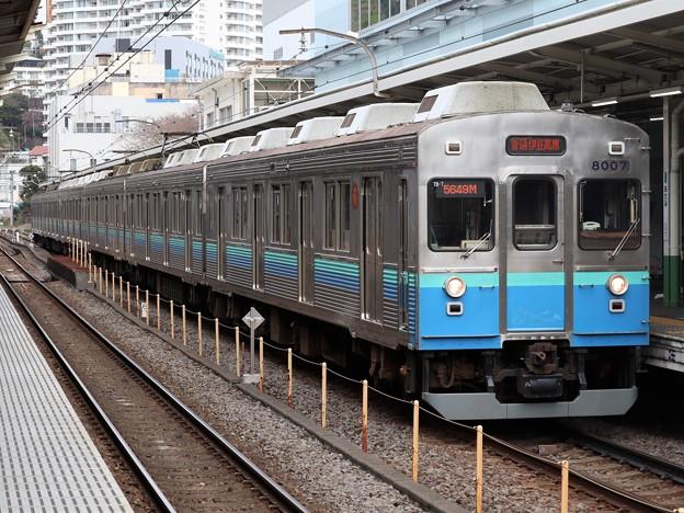 伊豆急行8000系 8007F+8006F