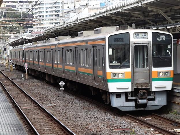 東海道線211系5600番台 SS5+W5編成