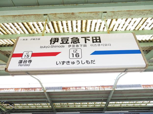 #IZ16 伊豆急下田駅 駅名標【1】