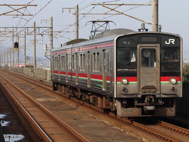 予讃線7200系 R10編成