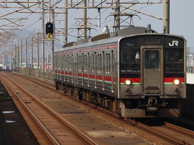 予讃線7200系 R08編成