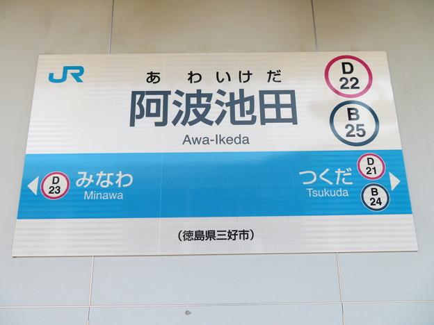 #D22 阿波池田駅 駅名標【5】