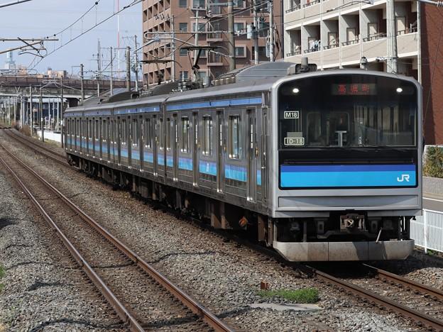 仙石線205系3100番台 M18編成