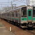 常磐線701系1000番台 F4-29+P-24編成