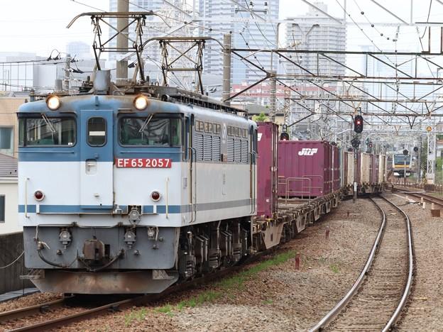 EF65 2057+コキ