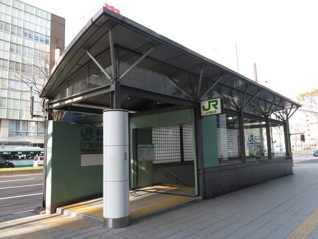 あおば通駅 2番口