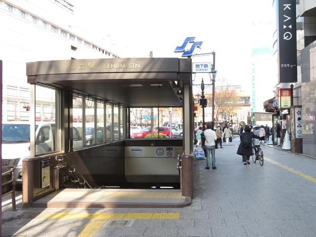 仙台駅 地下鉄北口2