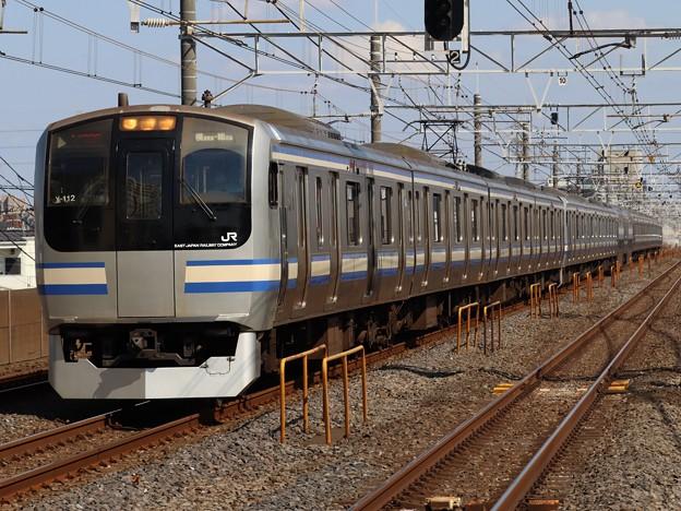 横須賀・総武快速線E217系 Y-112+Y-42編成