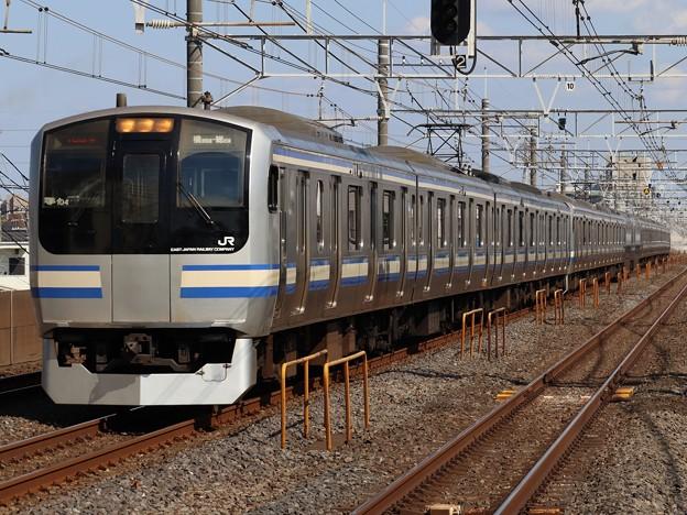 横須賀・総武快速線E217系 Y-104+Y-20編成