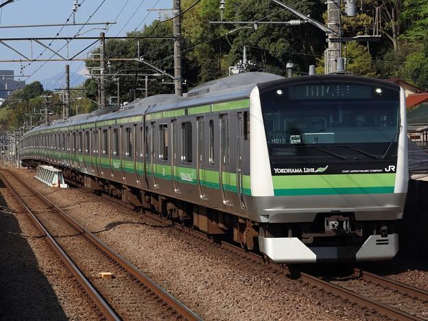 横浜線E233系6000番台 H015編成
