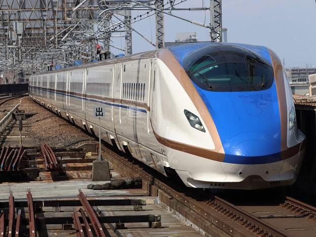 北陸新幹線E7系 F6編成
